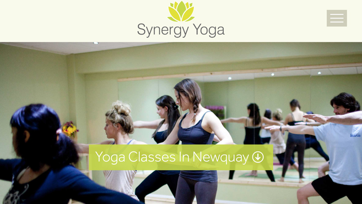 Yoga website image